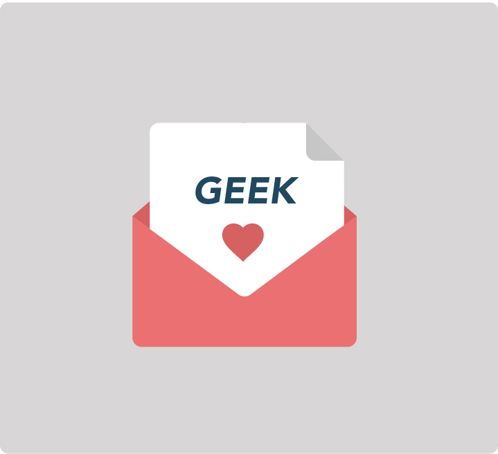 Inscription newsletter Geek School